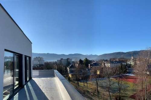 Modernes Penthouse in Top Ausstattung mit fantastischem Blick über Villach!