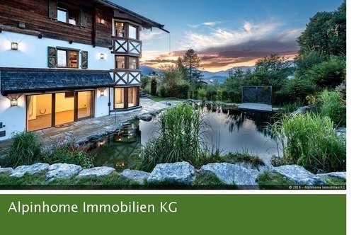 Exclusive Villa in begehrtester Lage Kitzbühels - mit Freizeitwohnsitz!
