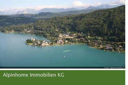 Provisionsfrei - Luxus-Garten-Wohnung Top 3 mit direktem Seezugang am herrlichen Wörthersee!