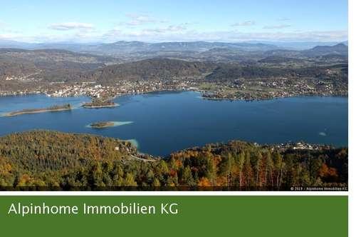Provisionsfrei - Einziehen und wohlfühlen - Top 1 mit Garten und direktem Seezugang am herrlichen Wörthersee!
