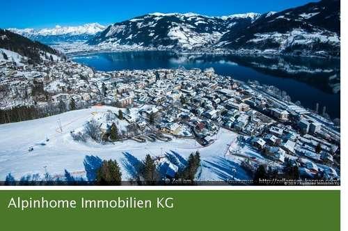 Traumhaft gelegenes Grundstück in Zell am See - Ideal für einen Neubau mit herrlichem Seeblick !