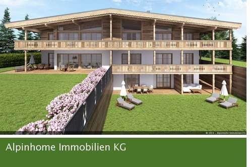 Attraktive Neubau-Gartenwohnung Top 1 in herrlicher Aussichtslage von Fieberbrunn!