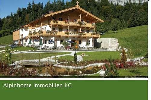 Traumhafte Landwirtschaft mit Apartments und eigener Quelle am Fuße des Wilden Kaisers!