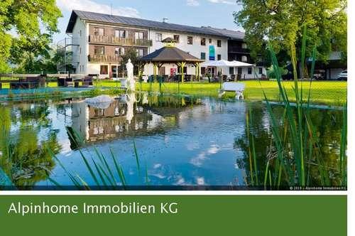 Drei-Sterne-Hotel mit großer Liegenschaft in Kärnten zwischen Faaker See und Wörthersee