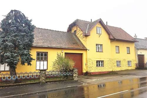 Ihr Freizeitwohnsitz in nur 1 Stunde von Wien - Einfamilienwohnhaus mit großem Potential!