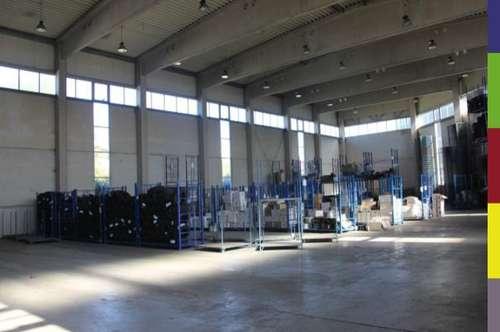 5000 m2 Gerwerbehallen mit LKW Laderampen