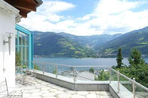 Großzügige Luxusvilla mit unverbaubarem See- und Bergblick