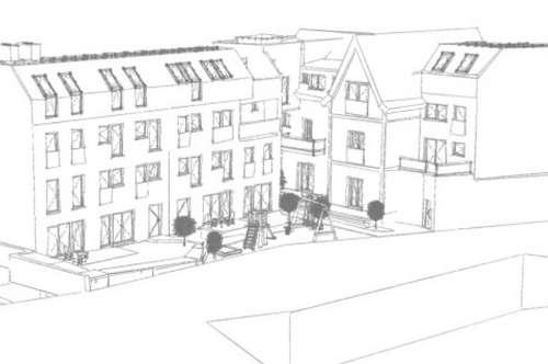 Stilvolle Maisonette-Wohnung mit Terrasse und Garten