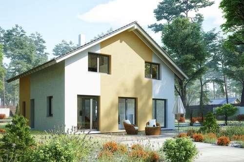 4 Schöne neue Einfamilienhäuser in leichter Hanglage