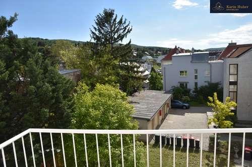 Zentral gelegene Wohnung mit Blick ins Grüne
