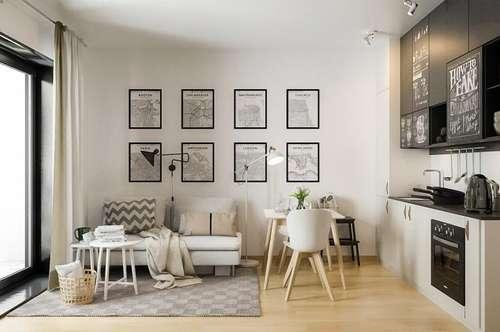 Perfekter Single-Wohntraum mit Balkon