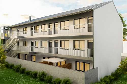 Wunderschöne Gartenwohnung mit zwei Terrassen!