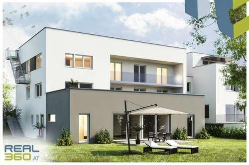 """Attraktive Neubau-Eigentumswohnung """"QUELLENWEG"""" mit großem Garten - ERSTBEZUG!!!"""