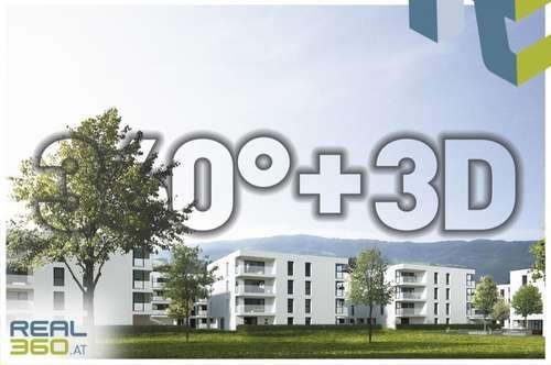 SOLARIS AM TABOR - PROVISIONSFREI - Förderbare Neubau-Eigentumswohnungen im Stadtkern von Steyr zu verkaufen!! (Top 30)