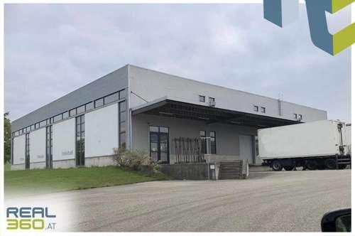 Tolle Lagerhalle in Mistelbach bei Wels zu verkaufen!! Mit 3 Rolltoren und Rangierfläche!!