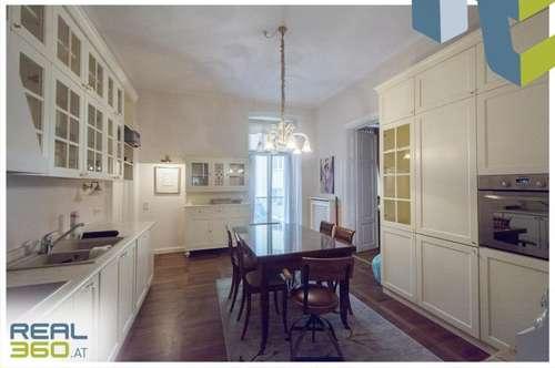 Exklusive und teilmöblierte 4-Zimmer Wohnung ab sofort zu vermieten!