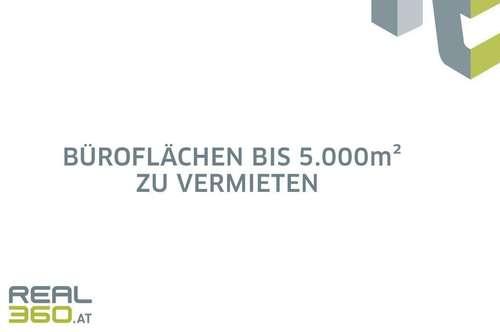 Neubau-Büroflächen bis ca. 5.000m² in Linzer Zentrumslage zu vermieten!