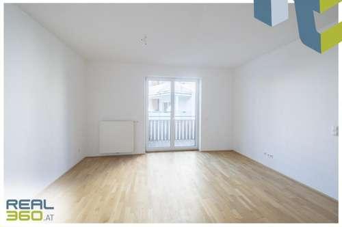 Hofseitig ausgerichtete 3-Zimmer Wohnung mit Küche und Balkon im Stadtzentrum!