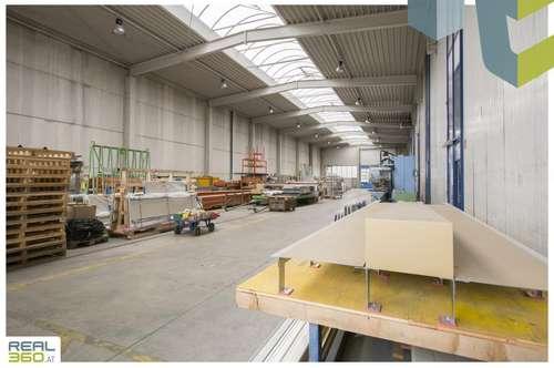 (Produktions-)Hallen mit 2 Rolltoren und einer Raumhöhe von ca. 10m zu vermieten! Linz-Hörsching!!