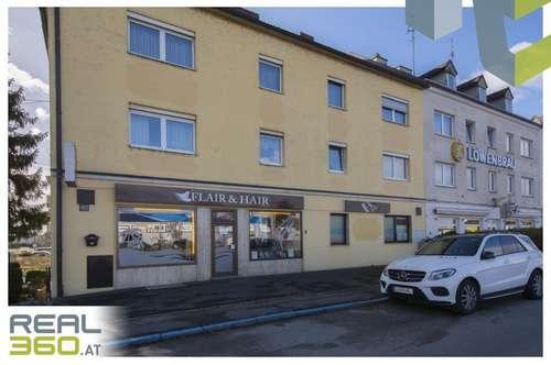 Geschäftsfläche in Hochfrequenzlage direkt neben der stark befahrenen Salzburgerstraße!!