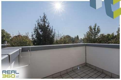 2 Zimmer Dachgeschosswohnung mit uneinsehbarem Balkon Nähe Wasserwald!!