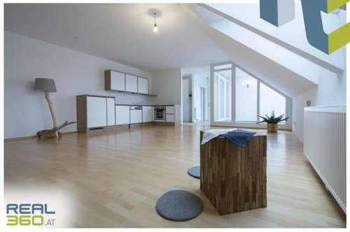 Dachgeschoßwohnung mit PKW Abstellplatz und uneinsehbarer Terrasse!