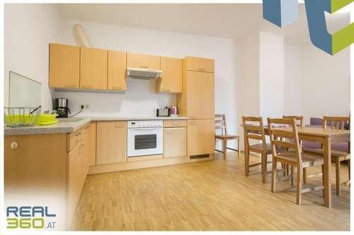 MÖBLIERTE 2-Zimmer Wohnung mit hofseitigem Balkon ab sofort zu vermieten!
