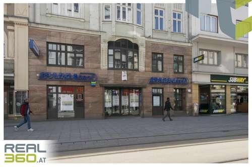 Tolle Geschäftsfläche auf der Linzer Landstraße zu vermieten - vormals Bank!