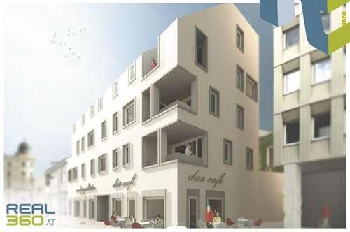 Geschäftsfläche und/oder Gastrofläche in komplett saniertem Gebäude unweit der Linzer Landstraße zu vermieten!