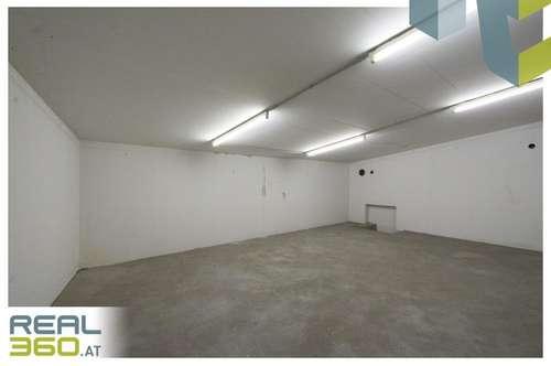 Tolles Lager mit PKW Abstellmöglichkeit in Garage - Zentrale Lage!!