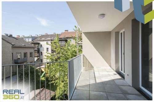 ERSTBEZUG - 3-Zimmer-Wohnung mit hofseitiger großer Loggia!