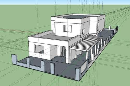 Zum Verkauf gelangt ein neu errichtendes, top modernes Einfamilienhaus in Gerasdorf bei Wien