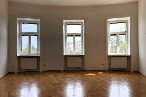 MANNLICHER | Schöne 3-Zimmer-Altbau-Wohnung mit Gartenmitbenützung in zentraler Lage