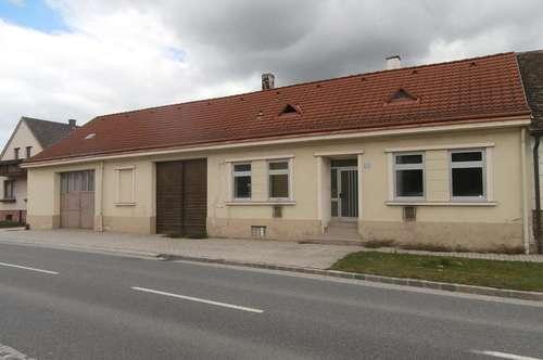 RESERVIERT Wilfersdorf: Einfamilienhaus mit großzügigen Garten - Nähe Mistelbach