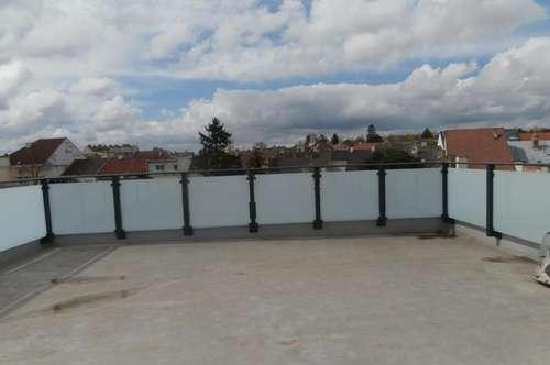 Exklusive Architekten Wohnung mit Dachterrasse mit Blick zum Kirchenberg