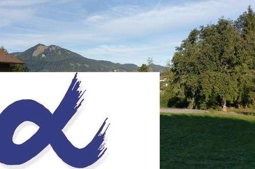 Seeblickgrundstück mit Baubewilligung für Einfamilienhaus am Wolfgangsee
