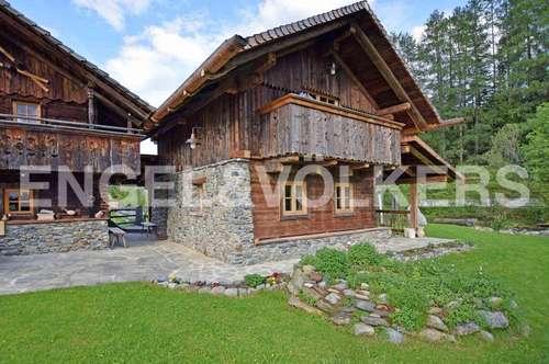 W-02BDXG Traumhaftes Altholz-Dörfchen im Salzburger Land