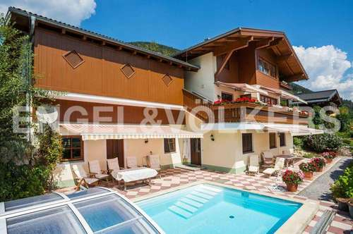 W-02CR2Z Edle Villa in fantastischer Panoramalage bei Kaprun
