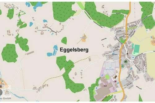 1.340 m² Bauland (auch teilbar in 2 x 670 m²) ohne Bauzwang am Ortsrand von Eggelsberg, sonnig ruhig
