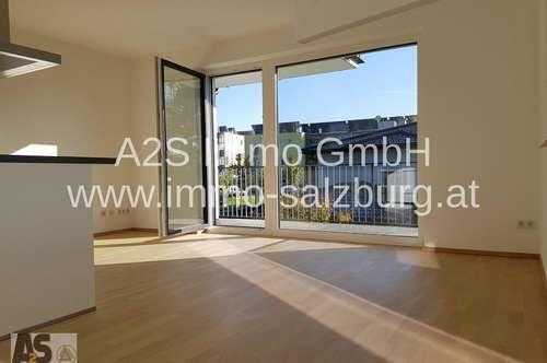WUNDERSCHÖNE 3 Zi-Wohnung mit großem Sonnenbalkon in Obertrum (neu)