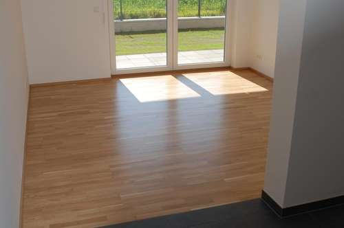 Prov.-frei: 2-Zi-Garten-Whg.,ca.57 m², Carp., Lift, barrierefrei, herrl.Lage in Gilgenberg, Neubau