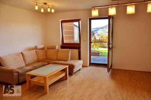 3-Zimmer Gartenwohnung mit traumhaften Seeblick in Seenähe nahe MATTSEE