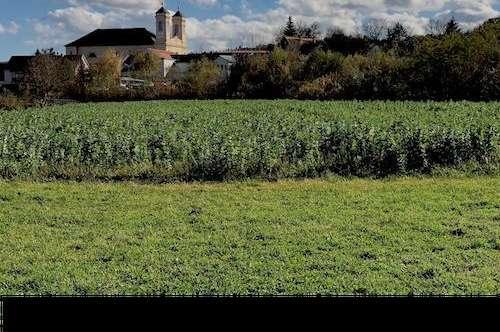 BAUGRUND mit genehmigtem Bauplan in ruhiger Dorflage