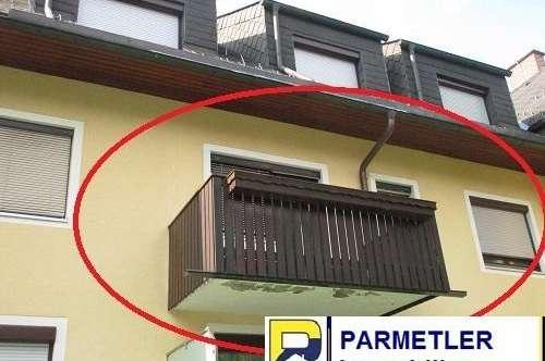 Wohnung mit Balkon und Carportplatz