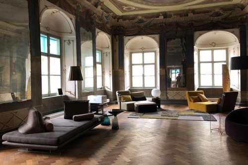 Prunkvolle Büroräumlichkeiten beim Kunsthaus
