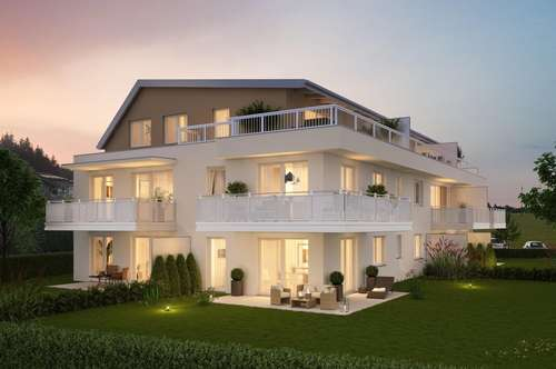 NEUBAU - Moderne 2 und 3 Zimmer Wohnungen mit großen Gärten und Terrassen im Wohn(t)raum mit Weitblick in Seekirchen