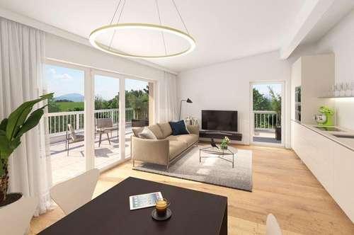 NEU - Traumhafte 3-Zimmer -Penthouse Wohnug + großer Terrasse im Wohn(t)raum mit Weitblick in Seekirchen