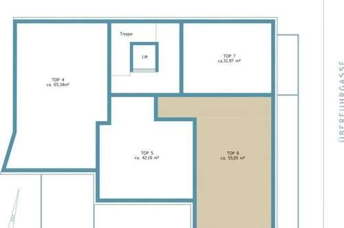 2-Zimmer-Erstbezugswohnung mit 25m² Süd-Terrasse provisionsfrei zu verkaufen