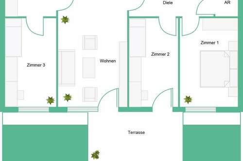 ULMENHOF - Mietwohnungen - PROVISIONSFREI - Erstbezug - ab sofort