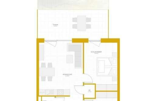 Erstbezug: 3-Zimmer-Gartenwohnung ab 01.04.2019 provisionsfrei zu vermieten